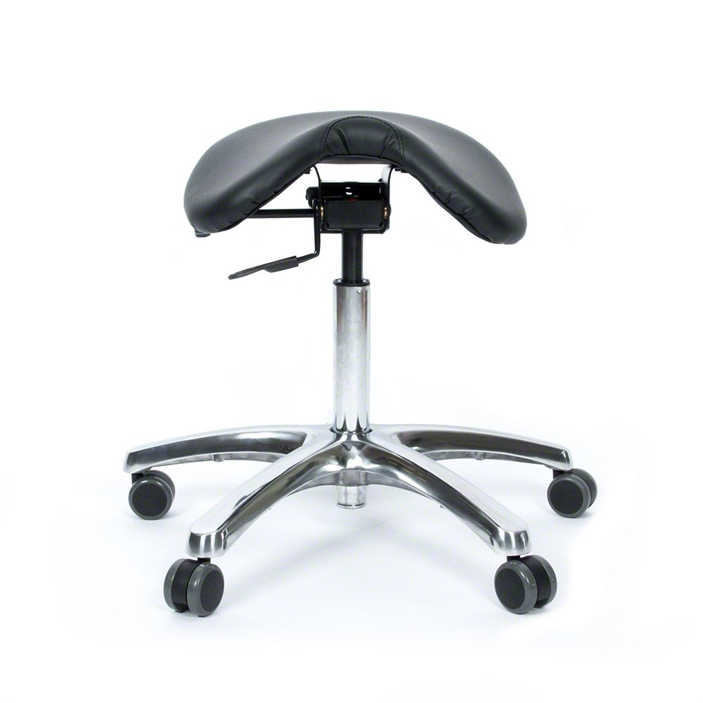 BetterPosture Saddle Chair –Multifunctional Ergonomic Back Posture Stool with Tilting Seat – Reduce Pressure on Lower Back and Improve Posture While Sitting