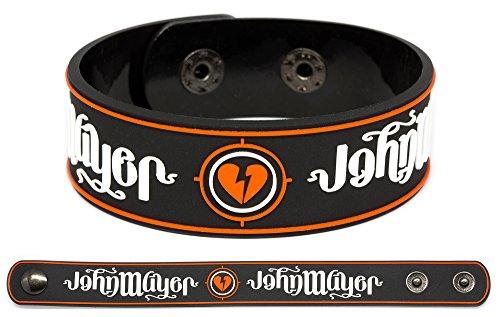 JOHN MAYER Rubber Bracelet Wristband Paradise Valley Born and Raised