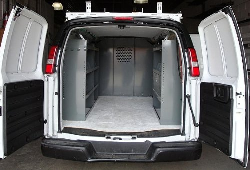 True Racks Van Shelving Storage System Package 3 Pc Set
