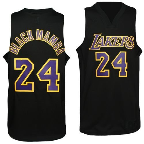 e66203d7b57 Amazon.com   NBA Men s Los Angeles Lakers Kobe Bryant Black Swingman ...