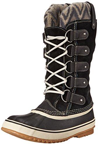 SOREL Women's Joan of Arctic Knit Boot, Black, 8 M US