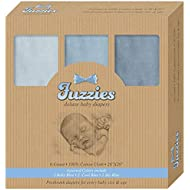 Fuzzies Baby Cloth Diapers, Blue