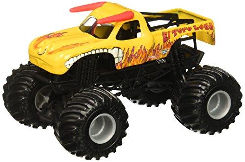 yellow monster truck - 1