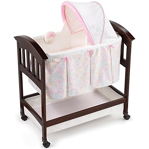 Summer Infant Products Classic Comfort Wood Bassinet Pink...