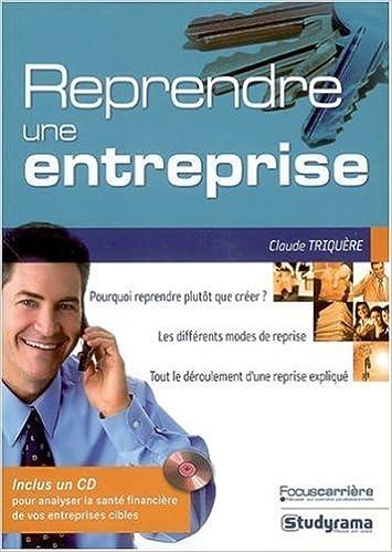 En ligne téléchargement Reprendre une entreprise (1Cédérom) pdf epub
