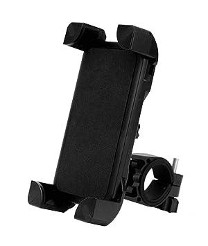 PRITECH - Soporte Teléfono Móvil Abrazadera de la Horquilla para Xiaomi Scooter y Bicicletas con Rotación 360 para 3.5