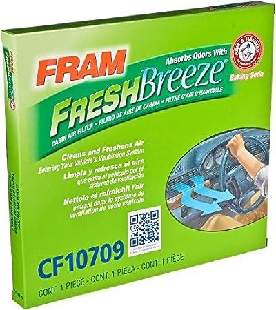 Fram Cf10709 Fresh Breeze Cabin Air Filter With Arm Hammer