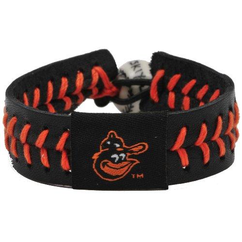MLB Baltimore Orioles 1983 Logo Team Color Baseball Bracelet
