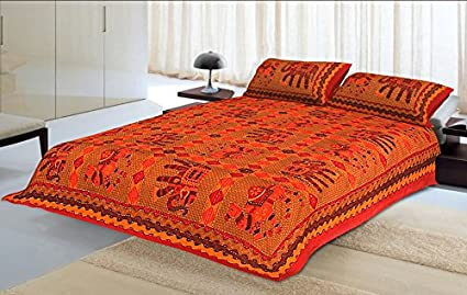 Urban trends king size quilted bedcover u d u d handmade