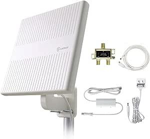 Antop Antena Omnidireccional de TV para exteriores con ...