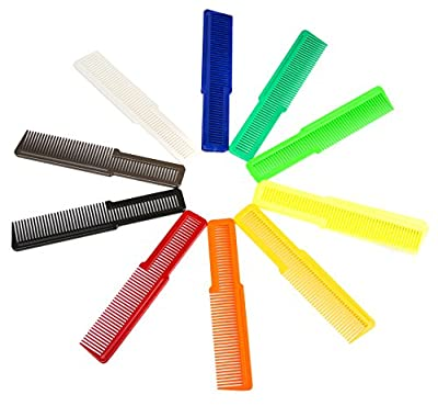 Wahl Professional Styling Clipper Combs in Assorted Colors #3206-200 - Great for Professional Stylists and Barbers - 12 Count
