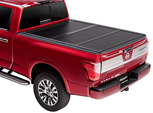 UnderCover FX41014 Flex Hard Folding Truck Bed Cover 2016-2017 Tacoma 5ft Short Bed Crew Toyota Tacoma Fiberglass