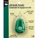 Dritz LED Lighted Needle Threader, Green