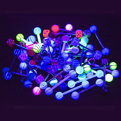 Led Light Up Tongue Ring in US - 3