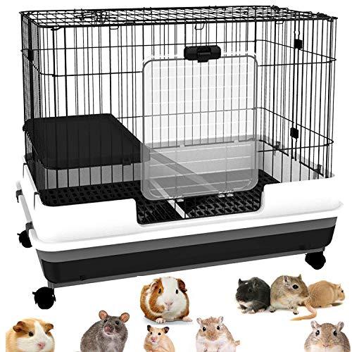 Large Indoor Small Animal Pet Habitat Hutch Cage Playpen Guinea