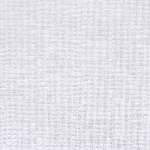 Brewster RD336 Anaglypta Paintable Thick Weave Wallpaper, 21 Inch By  396 Inch, White
