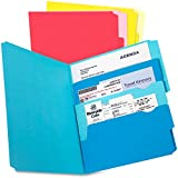 Pendaflex Divide It Up Multi-Section File Folder - Letter - 8.50quot; Width x 11quot; Length Sheet Size - Assorted - 24 / Pack