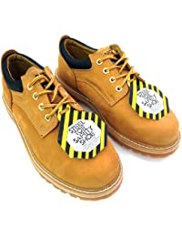 G4U Z 7425 Men s Steel Toe Work Boots Wheat Nubuck Leather 4 Oxfords Oil Resistant Width Wide W or 2E Wheat Under Discount