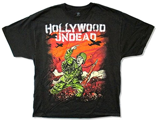 Hollywood Undead Do It For The Glory Men's Black T Shirt (S) -