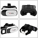 MODIK TM Virtual Reality Glasses 3D VR Box Headsets For 4.7~6 Inch Mobile Phones iPhone 5 / 5S / 6 / 6S Samsung LG Sony HTC Nexus One Plus Moto Lenovo [MADE IN INDIA]2017