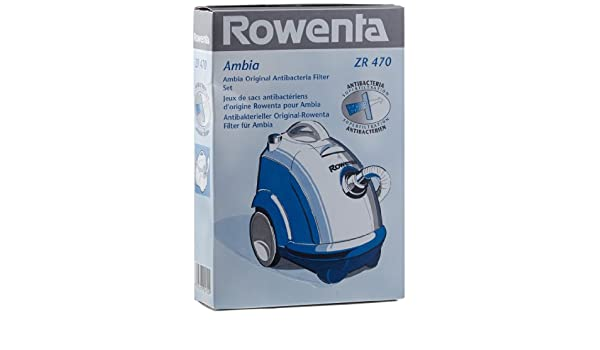 Amazon.com: Rowenta ZR470 Paper Vacuum Cleaner Filters ...