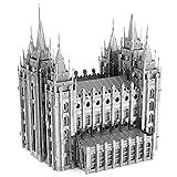 Fascinations ICONX Salt Lake City Temple 3D Metal Model Kit