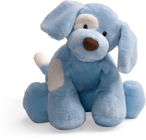 Gund Baby Spunky Plush Puppy Toy Extra Large, Blue ()