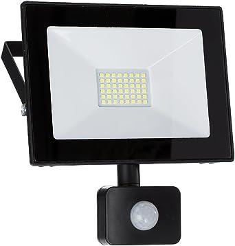 50W LED mit PIR Bewegungsmelder Flutlicht Fluter Außen Strahler Warmweiβ 220V