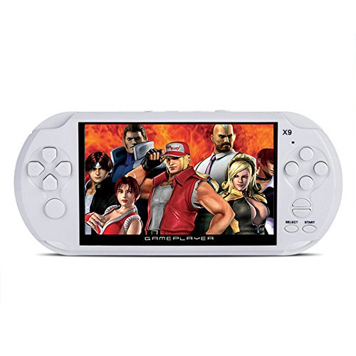 RISHIL WORLD X9-S Rechargeable 5.0 inch 8G Handheld Retro Game Console Video MP3 Player Camera by RISHIL WORLD (Image #3)