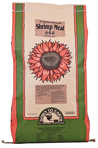 (Down To Earth Shrimp Meal - 15 lb)