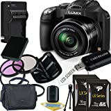 Panasonic Lumix DMC-FZ70 Digital Camera + 8GB SDHC Memory Card + 16GB SDHC Memory Card + USB SDHC Memory Card Reader + UV FILTER 55MM + CC UV, Florescent, Polarizer Filter Kit (Protect Your Lens!) + Weather Resistant Carrying Case w/Strap + Memory Card Wallet + Two Rechargeable Lithium Ion Replacement Battery + Rapid External Ac/Dc Charger Kit Review