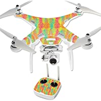 MightySkins Protective Vinyl Skin Decal for DJI Phantom 3 Professional Quadcopter Drone wrap cover sticker skins Spring Pines
