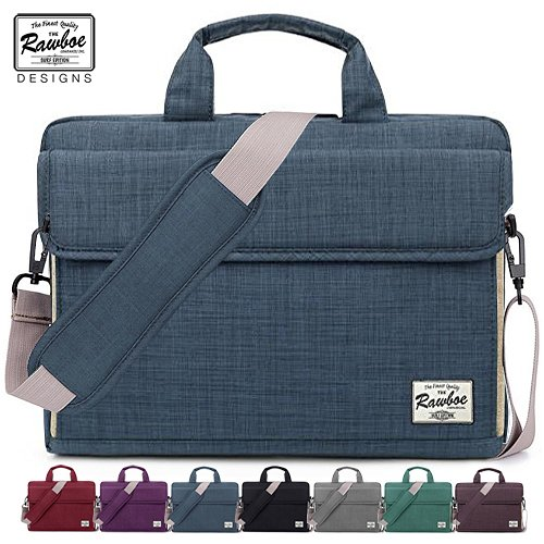 Laptop Bag 13-13.3 inch Rawboe Oxford Fabric Portable Laptop Sleeve Case Messenger Bag For Men / Women For Apple MacBook Air /Surface Pro 4 /Notebook with Shoulder Strap And Multiple Pockets - Blue