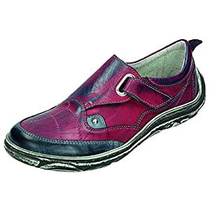 Miccos Shoes womens Velcro shoeVelcro shoe bordo/blue size 42.0 EU