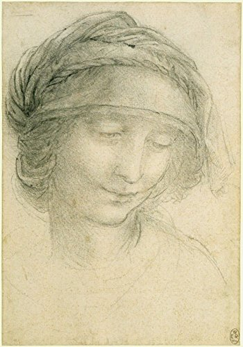 Leonardo da Vinci - The Head of Saint Anne - Royal Collection Trust UK - Windsor Castle 30