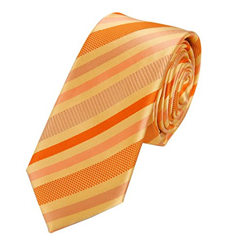 EAE1A22 Urban Presents Mens Silk Skinny Tie Striped Gift for Evening By Epoint