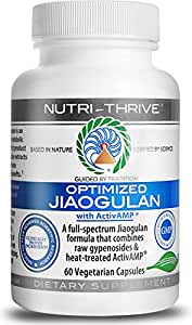 Optimized Jiaogulan - W/ Clinically Proven ActivAMP® & Raw Gypenosides