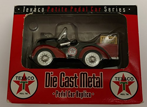 - Crown Premiums - #PPAC 02- Texaco Petite Pedal Car Series - Package Truck Pedal Car Replica - 1:12 Scale - Die Cast - Numbered - OOP / MIB - New - Collectible