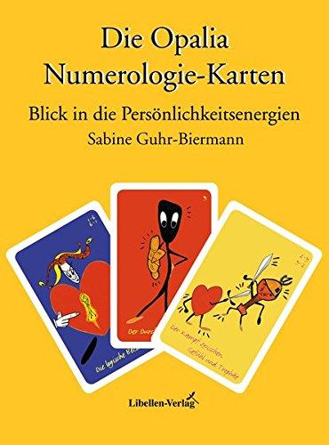 Opalia Numerologie-Karten. Deutungsbuch. Blick in die Persönlichkeitsenergien.