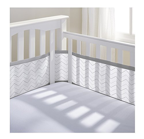 BreathableBaby Mesh Printed Liner Chevron product image