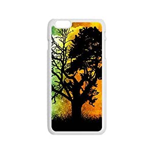 Fire and ice double days unique tree Phone Case for iPhone 6