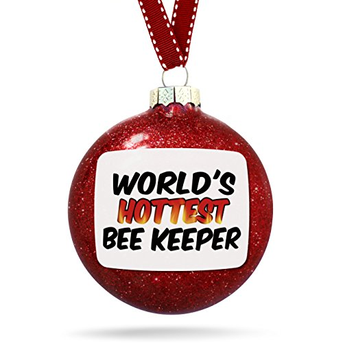 Christmas Decoration Worlds hottest Bee Keeper Ornament