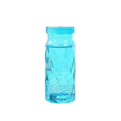 fancylande botella bebida botella vidrio botella Infusion botellas transparentes botella de agua portátil botella botella de