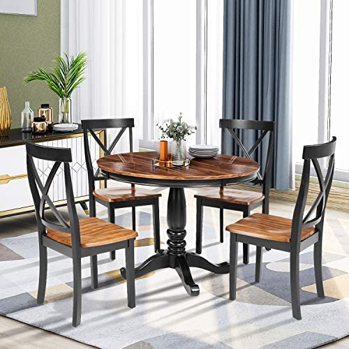 LENTIA 5-Piece Kitchen Dining Table Set