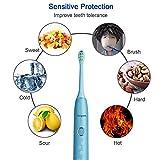 Kids Electric Toothbrush Waterproof Rechargeable