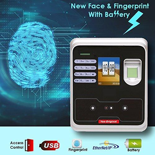 (Yes Original Biometric Face & Fingerprint Time attendance,2.4
