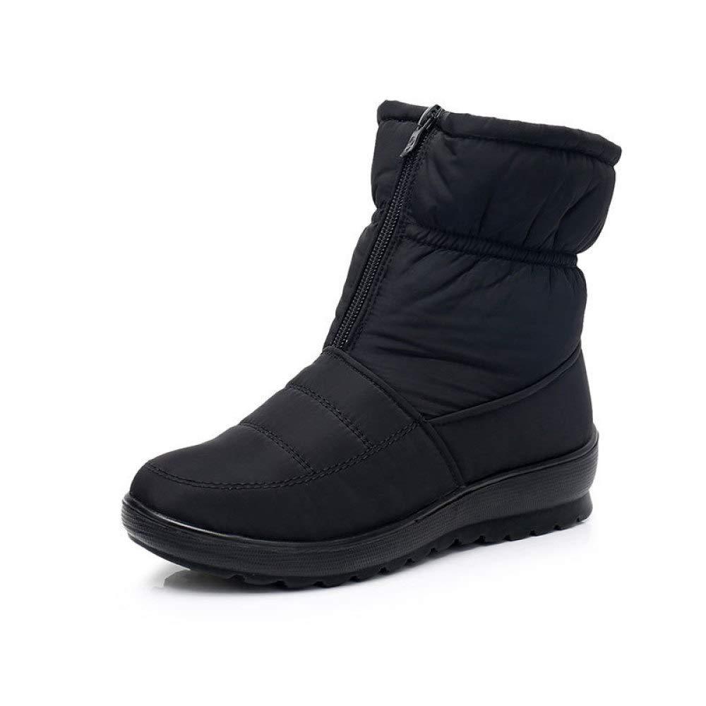 F.RUI Damen Winterstiefel PA-07 Rutschfeste SnowStiefel Gefüttert Warm Winterschuhe Schneeschuhe Outdoor Stiefel Plusgröße 36-40