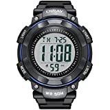 YEENIK Men's Digital Watch, Led Military 50M...