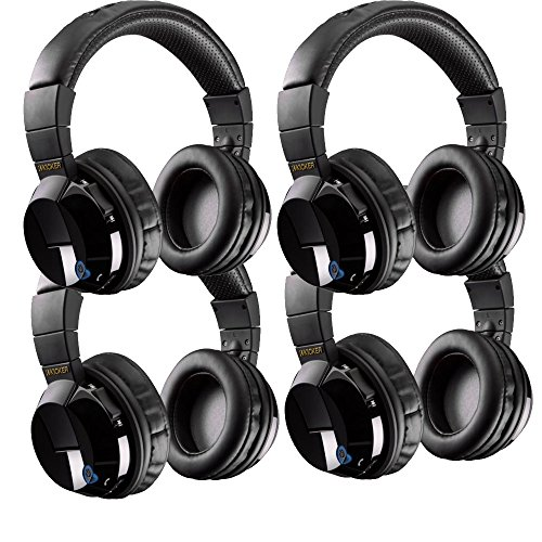 th Bundle - Includes Four Pairs of Kicker Tabor Wireless Headphones ()
