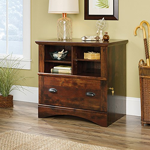 Sauder Harbor View Lateral File in Curado Cherry by Sauder